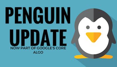 谷歌企鹅更新