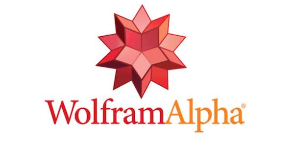 WolframAlpha搜索引擎