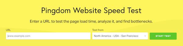 网站速度测试
