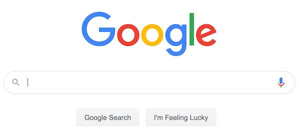 打开谷歌搜索