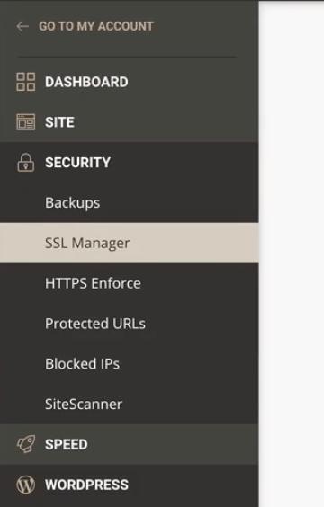 SSL Manager