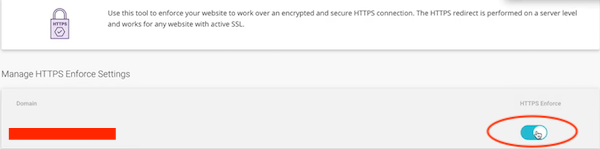 HTTPS Enforce
